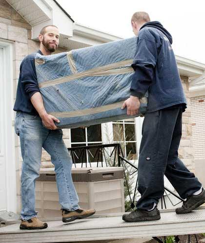 déménageur à Montréal - meubles lourds